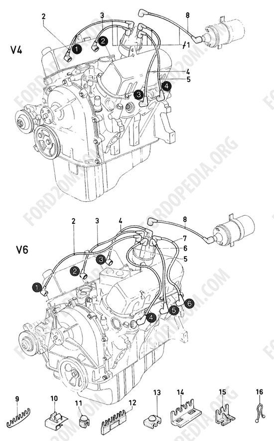 Koeln V4  V6 Engines  1962