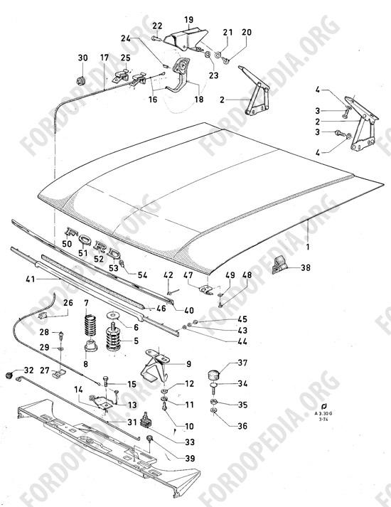 ford granada wiring diagram