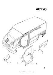 ford transit mkiii 1985 1991 parts list fordopedia org rh fordopedia org ford transit mk3 service manual Ford Capri
