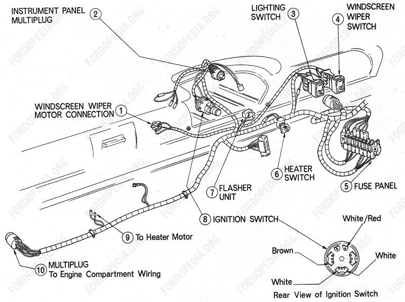 Ford Flasher Relay Wiring Diagram from www.fordopedia.org